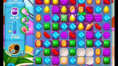 Candy Crush Friends Group SODA Level 312 NO BOOSTERS 1Stars