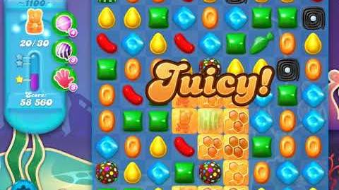 Candy Crush Soda Saga Level 1100 (3rd version)
