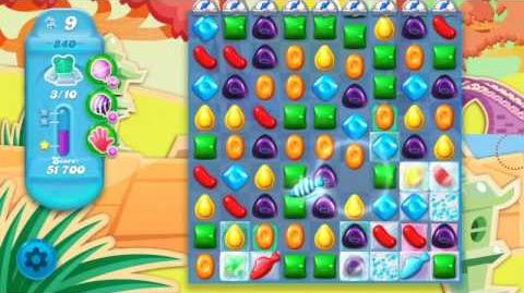 Candy Crush Soda Saga Level 840 (2nd nerfed)