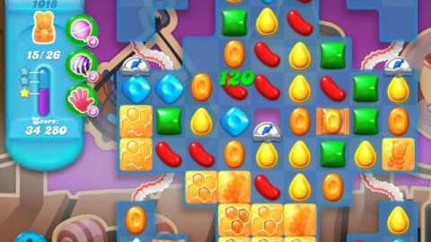 Candy Crush Soda Saga Level 1018 (4th version, 3 Stars)