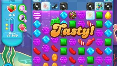 Candy Crush Soda Saga Level 1101 (9th version, 3 Stars)