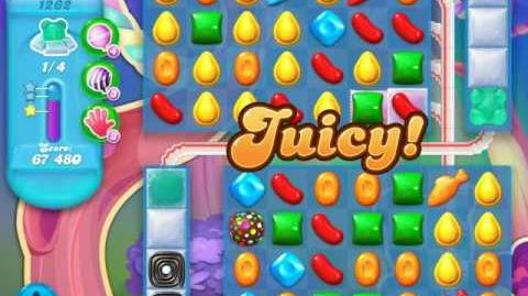 Candy Crush Soda Saga Level 1262 (3 Stars)