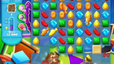 Candy Crush Soda Saga Level 547 (buffed, 3 Stars)