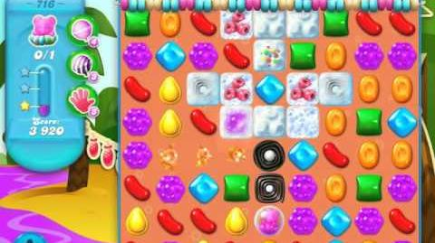Candy Crush Soda Saga Level 716 (3 Stars)