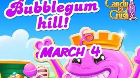 Candy Crush Soda Saga - Bubblegum Hill - March 4-0