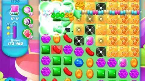 Candy Crush Soda Saga Level 1250 (3 Stars)