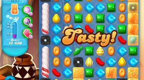 Candy Crush Soda Saga Level 1534 (5th version, 3 Stars)