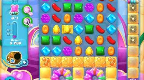 Candy Crush Soda Saga Level 341 (nerfed)