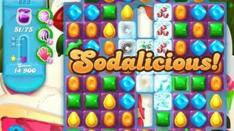 Candy Crush Soda Saga Level 823 (3 Stars)