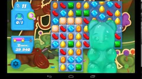 Candy Crush Soda Saga Level 14 - 3 Star Walkthrough