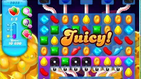 Candy Crush Soda Saga Level 2038 **