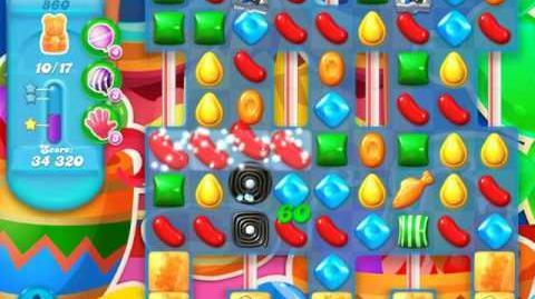 Candy Crush Soda Saga Level 860 (6th version)