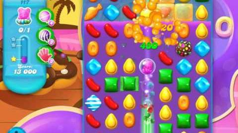Candy Crush Soda Saga Level 117 (3rd version, 3 Stars)