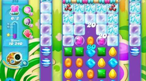Candy Crush Soda Saga Level 318 (nerfed, 3 Stars)