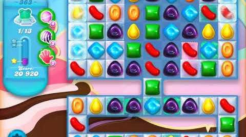 Candy Crush Soda Saga Level 363 (buffed, 3 Stars)