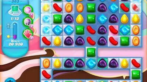Candy Crush Soda Saga Level 363 (buffed, 3 Stars)
