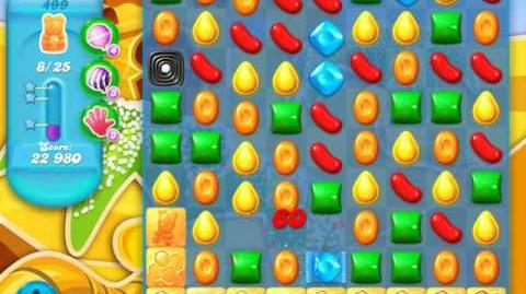 Candy Crush Soda Saga Level 499 (4th version)