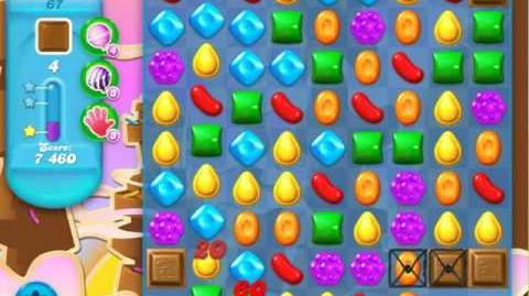 Candy Crush Soda Saga Level 67 (nerfed, 3 Stars)