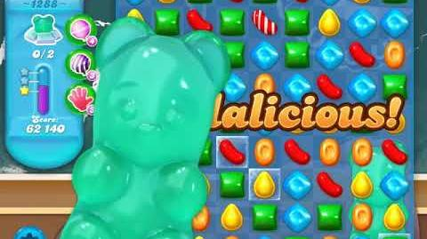 Candy Crush Soda Saga Level 1288 (6th version, 3 Stars)