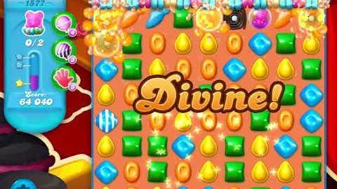 Candy Crush Soda Saga Level 1577 (buffed)