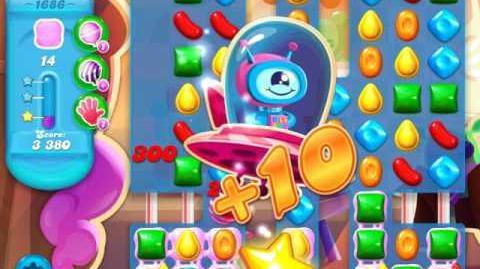 Candy Crush Soda Saga Level 1686 (3 Stars)