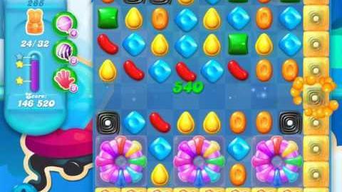 Candy Crush Soda Saga Level 285 (5th version, 3 Stars)