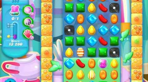 Candy Crush Soda Saga Level 352 (2nd nerfed)