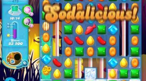 Candy Crush Soda Saga Level 475 (nerfed, 3 Stars)