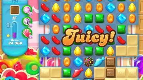 Candy Crush Soda Saga Level 734 (buffed, 3 Stars)