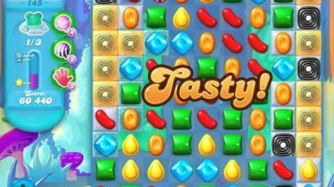 Candy Crush Soda Saga Level 145 (7th version, 3 Stars)