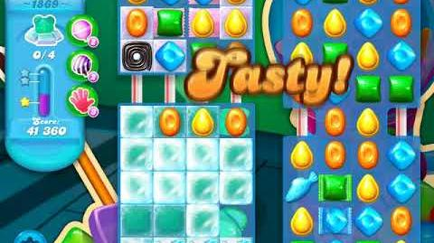 Candy Crush Soda Saga Level 1869 (3 Stars)