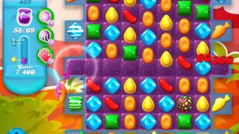 Candy Crush Soda Saga Level 432 (5th version, 3 Stars)