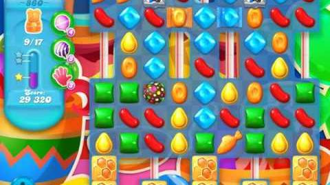 Candy Crush Soda Saga Level 860 (buffed, 3 Stars)