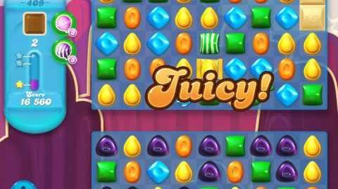 Candy Crush Soda Saga Level 409 (3 Stars)