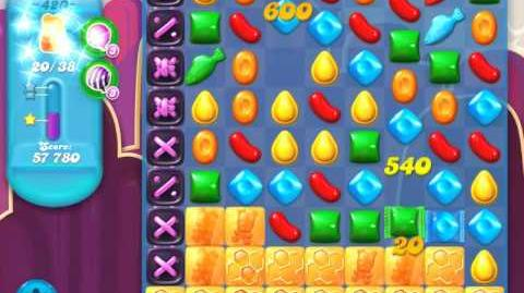 Candy Crush Soda Saga Level 420 (nerfed, 3 Stars)