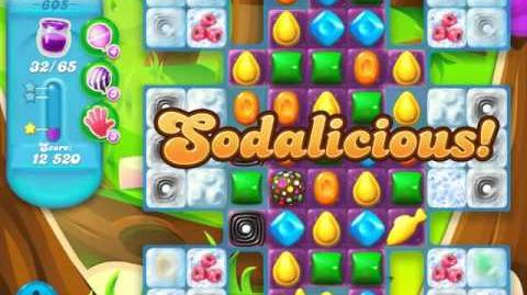 Candy Crush Soda Saga Level 605 (4th version)