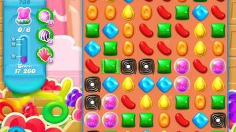 Candy Crush Soda Saga Level 739 (3rd version)