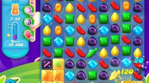 Candy Crush Soda Saga Level 585 (5th version, 3 Stars)