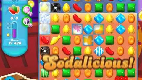 Candy Crush Soda Saga Level 527 (3 Stars)