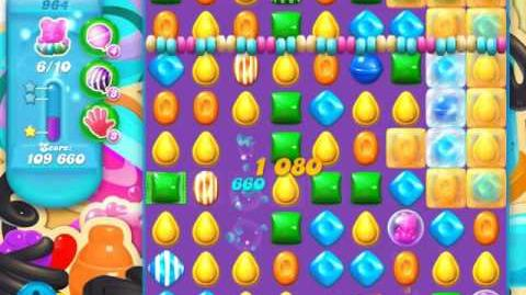 Candy Crush Soda Saga Level 964 (buffed)