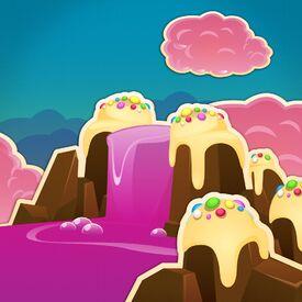 Creamy Cliffs background
