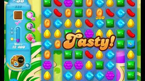 Candy Crush Friends Group SODA Level 332 Only using 2 moves 3Stars Update 291017