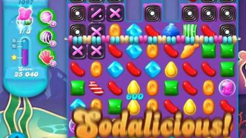 Candy Crush Soda Saga Level 1097 (4th version, 3 Stars)