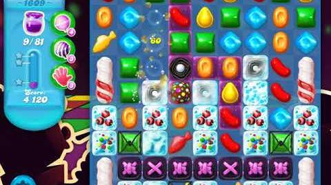 Candy Crush Soda Saga Level 1609 (2nd nerfed)