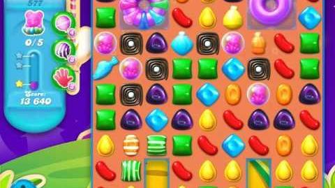 Candy Crush Soda Saga Level 577 (nerfed)