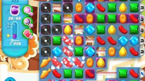 Candy Crush Soda Saga Level 923 (2nd nerfed)