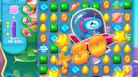 Candy Crush Soda Saga Level 1497 (3 Stars)