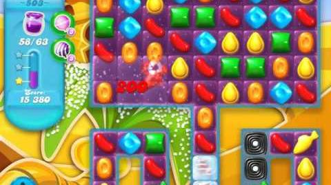 Candy Crush Soda Saga Level 503 (3rd version, 3 Stars)