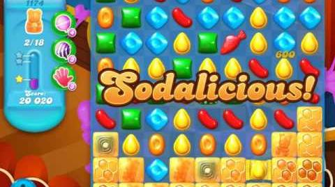 Candy Crush Soda Saga Level 1174