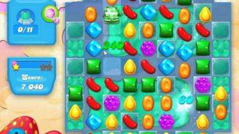 Candy Crush Soda Saga Level 33 (11bears, 3 Stars)